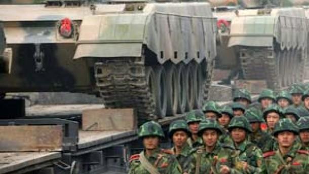 China verteidigt Modernisierung seiner Streitkräfte
