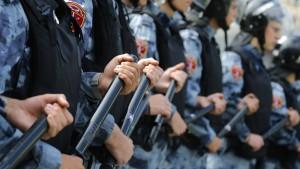 Lupenreiner Polizeistaat