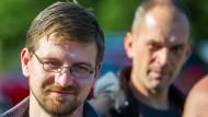 Wegen Volksverhetzung verurteilt: Der NPD-Landtagsabgeordnete David Petereit