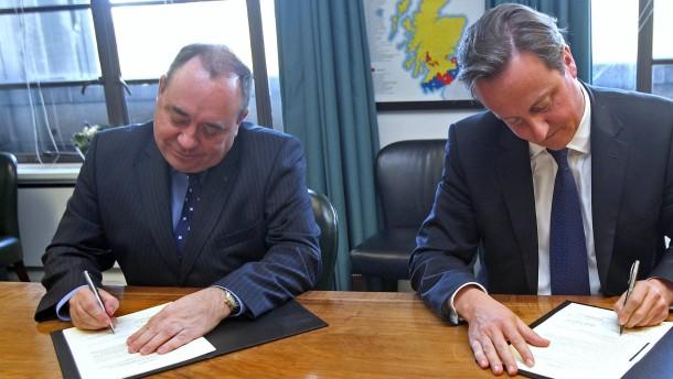 Schottland entscheidet über Unabhängigkeit
