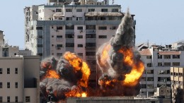 Israel greift Hochhaus mit Büros internationaler Medien an