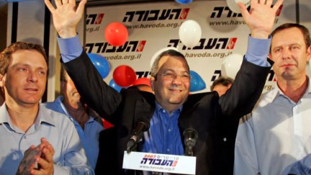 Barak wird Vorsitzender der Arbeiterpartei
