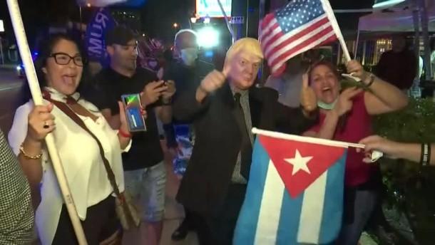 Trump verdankt Latinos wohl Wahlsieg in Florida