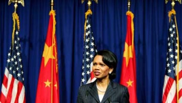 Rice: Frühestens in fünf Jahren einsatzfähige Atomwaffe