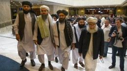 Amerikaner und Taliban verhandeln wieder