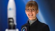 """""""Wenn die Mission feststeht, dann wird entschieden, wer mitfliegt"""", sagt Insa Thiele-Eich."""