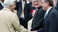 Präsidententreffen: Weizsäcker, Rau und Amtsnachfolger Horst Köhler