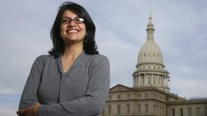 Rashida Tlaib wird erste Muslima im Kongress
