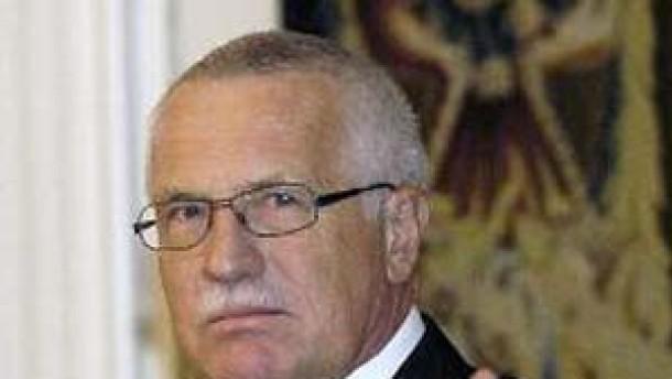 Vaclav Klaus: Ich habe Angst um Europa