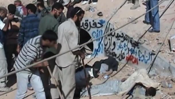 Gaddafis letzte Stunden