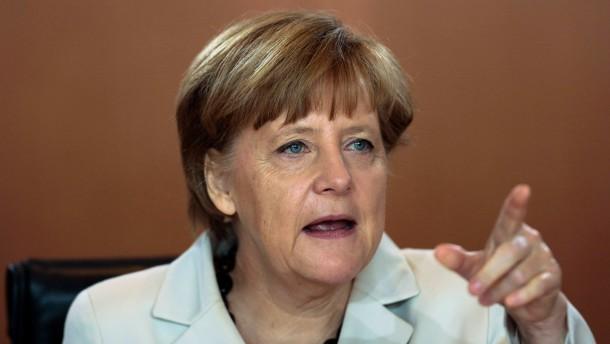 Merkel mahnt Putin zur Anerkennung der Wahl