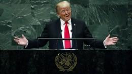 UN-Vollversammlung lacht Trump aus