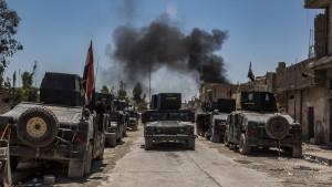 Iraks Armee nimmt weiteres Viertel in Mossul ein