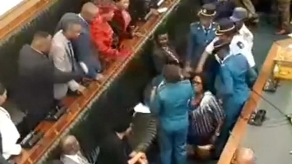 Schlagfertiges Parlament