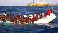 Mehr als 5000 Flüchtlinge starben 2016 im Mittelmeer