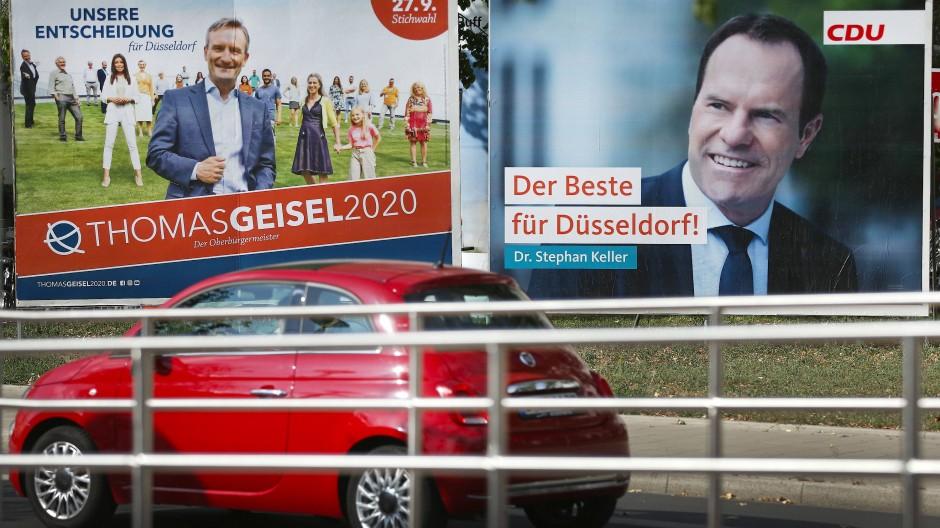 Dass es in der nordrhein-westfälischen Landeshauptstadt zu einer Stichwahl kommen würde, hat sich schon länger abgezeichnet.
