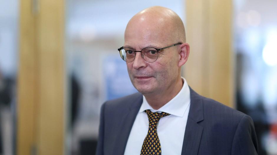 Der Oberbürgermeister von Halle an der Saale, Bernd Wiegand (parteilos)
