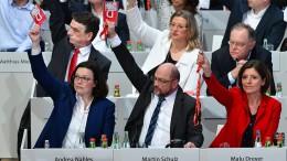 """Knappes """"Ja"""" zu Groko-Verhandlungen"""