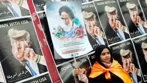 """Rohani: Iran keine Bedrohung und Trump ein """"Anfänger"""""""