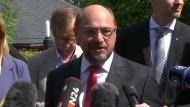 Schulz will auch bei Bundestagswahl-Niederlage Parteivorsitzender bleiben