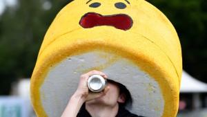 Tausende Deutsche trinken sich zu Tode