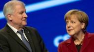 Seehofer macht Merkel für Erstarken der AfD verantwortlich