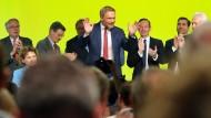 Der FDP-Vorsitzende Christian Lindner nach seiner Rede