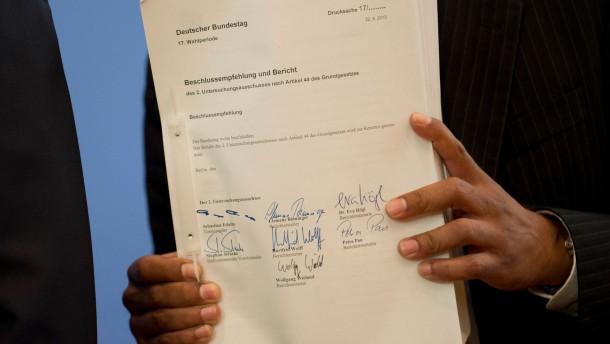 Abschlussbericht NSU-Untersuchungsausschuss