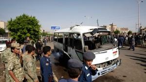 Mehrere Tote bei Anschlag auf Militärbus