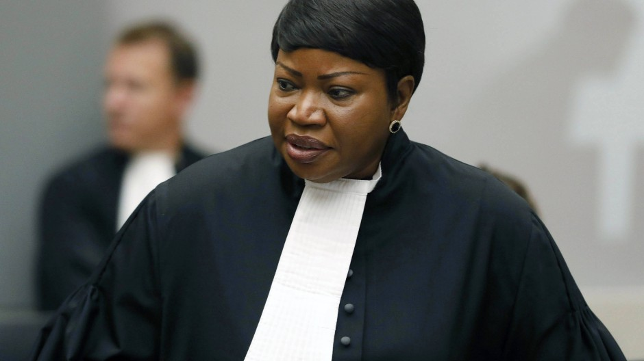 Fatou Bensouda, Chefanklägerin des Internationalen Strafgerichtshofs