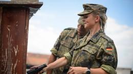 Widerstand gegen weibliche Dienstgrade bei der Bundeswehr