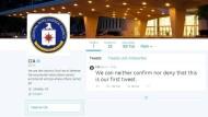 Die erste Verteidigungslinie der Nation: Das Profil der CIA auf Twitter