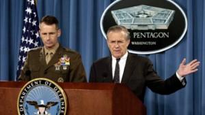 Schwere Tage für Rumsfeld