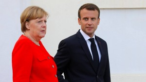 Die Grenzen Merkels und Macrons