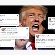 Trumps Kampf gegen die Briefwahl
