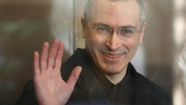 Chodorkowskis Festnahme verstieß gegen dessen Rechte