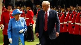 Trump bekommt seinen Staatsbesuch in London