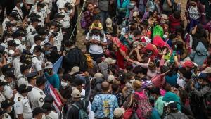 Neue Migrantenkarawane mit Gewalt gestoppt