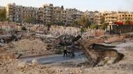 In den Ruinen von Aleppo