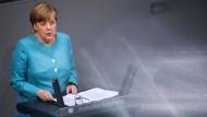 Merkel kritisiert Abschottung Amerikas scharf