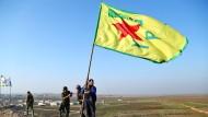 Kämpfer der kurdischen YPG-Miliz Ende Januar nach dem Sieg in Kobane.