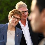 Ministerpräsidentin Annegret Kramp-Karrenbauer (CDU) und ihr Mann Helmut