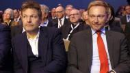 Die Grünen und die FDP: Gespräche geübter Gegner