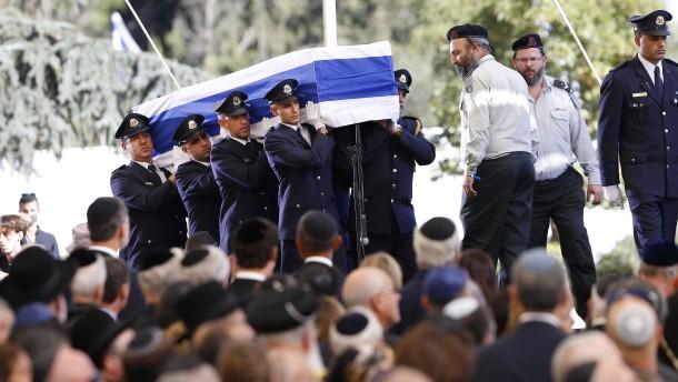 Ex-Staatsmann wird beeredigt: Israel ohne Peres