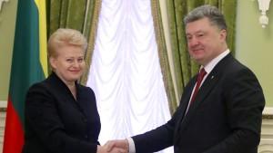 Litauen unterstützt Kiew militärisch