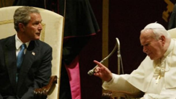 Papst fordert rasche Souveränität für den Irak