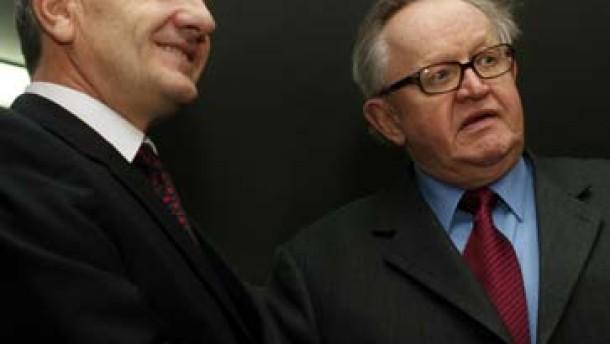 Ahtisaari stellt Plan für das Kosovo vor