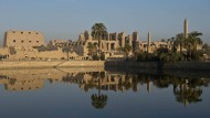 Der Tempel von Karnak in der Antikenstadt Luxor ist ein beliebtes Ziel von Touristen.