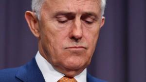 Australischer Premier: Trump hat nicht aufgelegt
