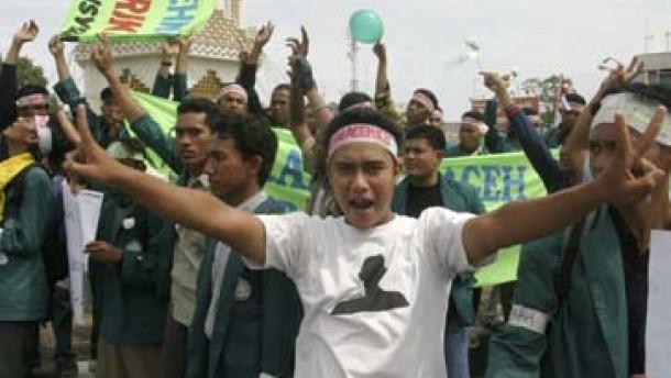 Friedensabkommen für Aceh